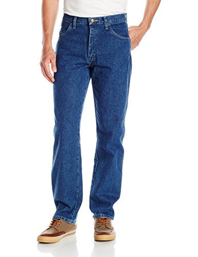 Maverick Men's Relaxed Fit Jean, Dark Stonewash, 36x36