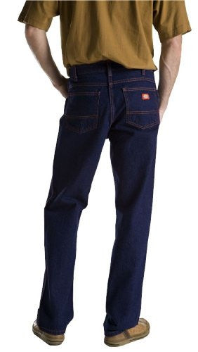Dickies Men's Regular Fit 5-Pocket Jean,Indigo Blue Rigid,38x29