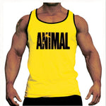 Bodybuilding Stringer Tank Top Mens Beast Mode Gyms Clothing