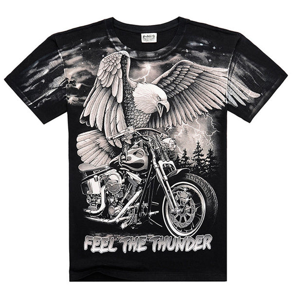 Black Heavy Metal 3D T Shirt
