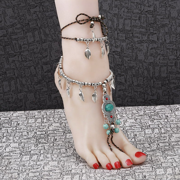 Chic Barefoot Jewelry Anklet