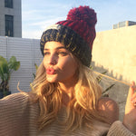 Winter Knit Wool Yarn Hat