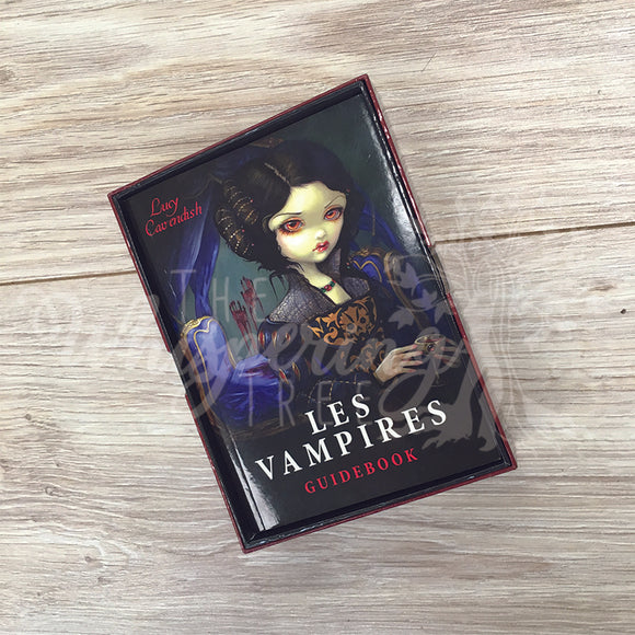 Les Vampires Guide Book Cards