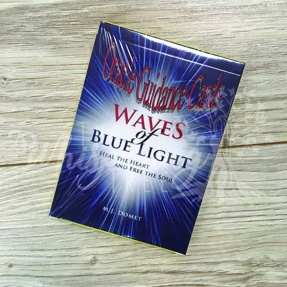 Waves of Blue Light Oracle Guidance Cards
