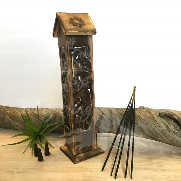 Wood Incense Tower