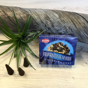 Frankincense-Myrrh Incense