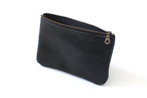 Zip Pouch | Black,Zip Pouch - Botton Studio