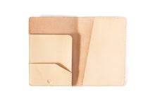 Passport Case | Natural Veg Tan,Passport Cases - Botton Studio