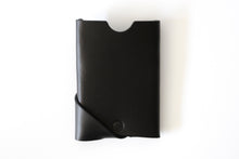 Oblique Wallet | Black,Wallets - Botton Studio