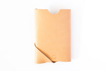 Oblique Wallet | Natural Veg Tan,Wallets - Botton Studio