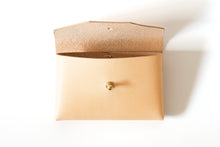 Bonnie Pouch | Natural Veg Tan,Wallets - Botton Studio