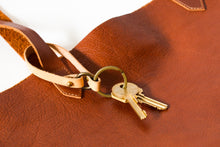 Key Holder | Natural Veg Tan,Key Holder - Botton Studio