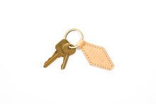 Key Fob | Natural Veg Tan,Keyfobs - Botton Studio