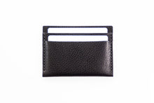 Orca Wallet | Pebbled Black,Wallets - Botton Studio