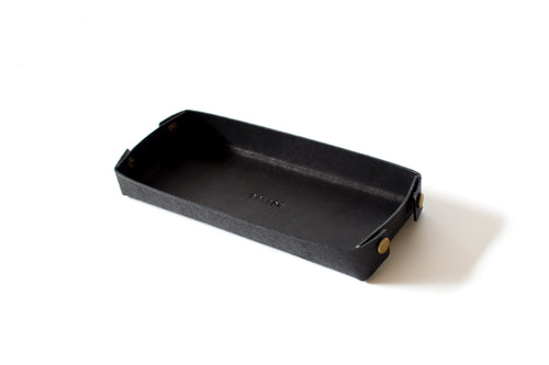 Desk Tray | Black,Tray - Botton Studio