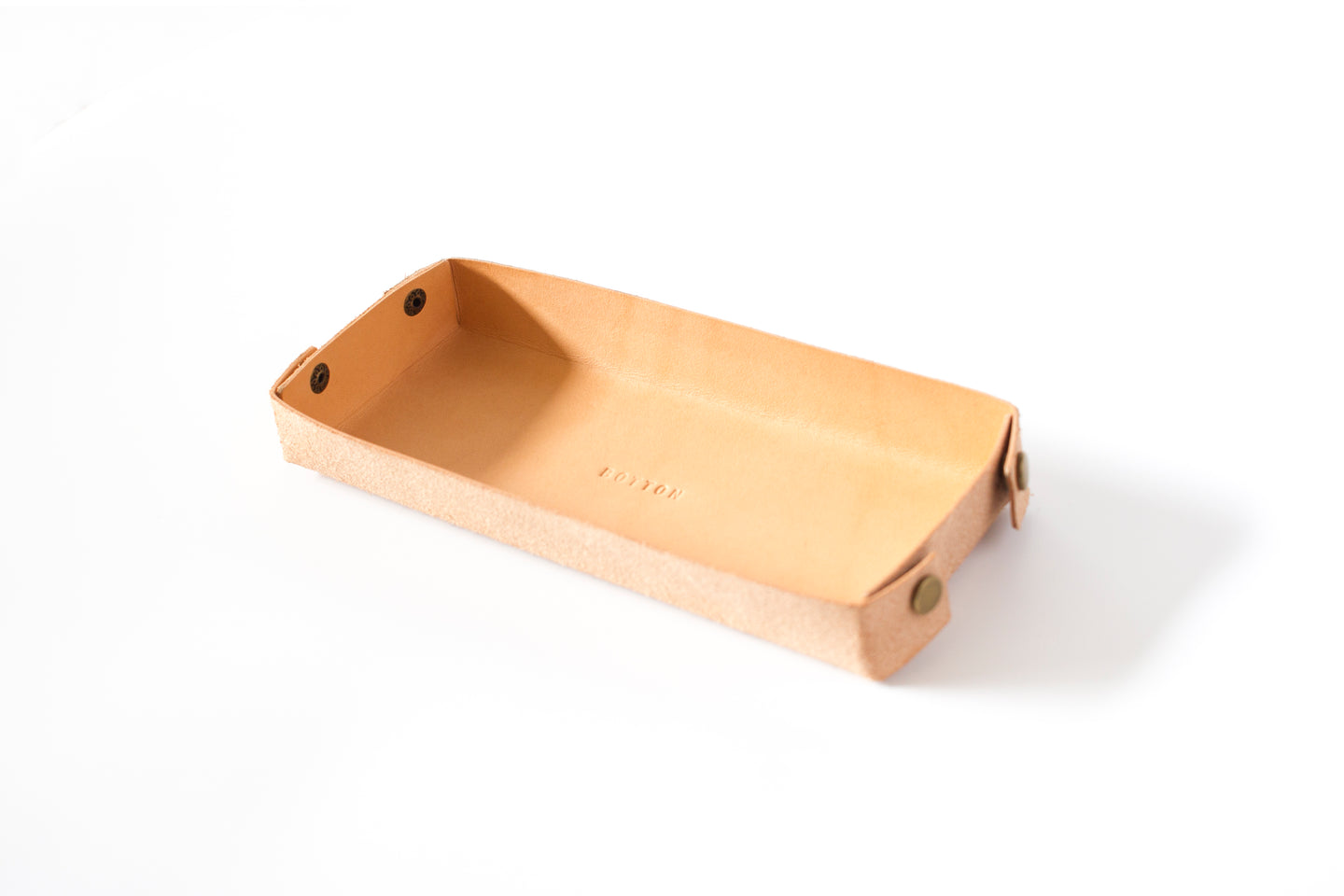 Desk Tray | Natural Veg Tan,Tray - Botton Studio