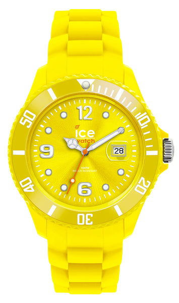 Ice-Watch Ice-Forever Sili Collection Polyamide & Silicon Unisex Yellow Watch SI.YW.U.S.09