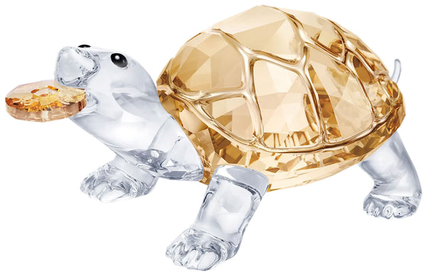 Swarovski Tortoise Asian Icons Crystal Figurine 5463874