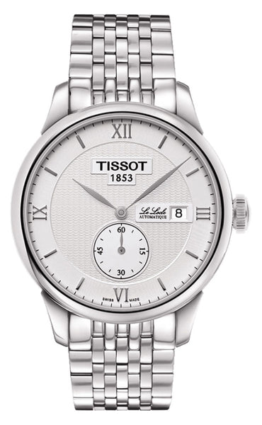 Tissot Le Locle Stainless Steel Automatic Silver Dial Date Mens Watch T0064281103801