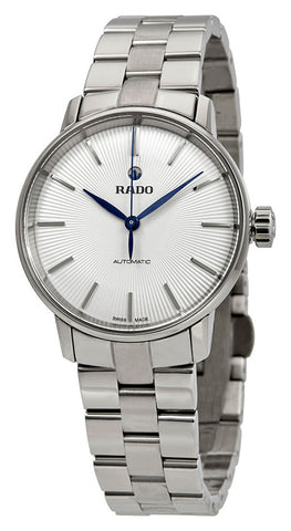 Rado Coupole Classic S White Dial Stainless Steel Automatic Womens Watch R22862043