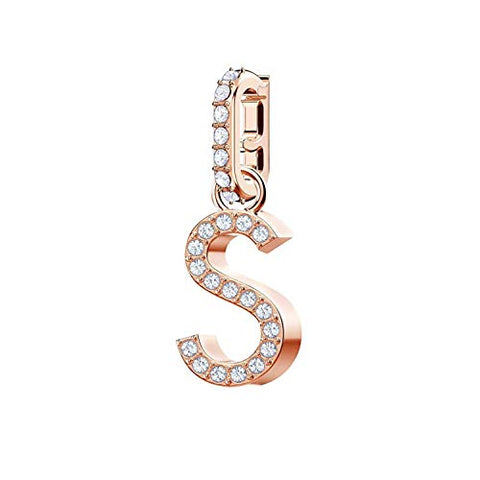 5434399 Remix Rose Gold Plated Alphabet S Charm