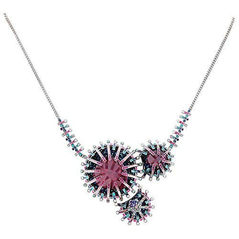SWAROVSKI Efflorescence Rhodium Plated Ladies Necklace 5199662