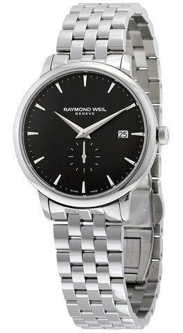 Raymond Weil Toccata Steel 5484-ST-20001 Black Dial with Small Second Sub Dial Watch for Men