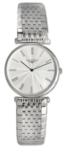 Longines La Grande Classique Stainless Steel Mens Ultra Thin Watch Watch L4.709.4.71.6