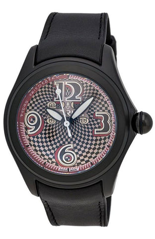 Corum Bubble Friedeberg Arcimboldo Limited Edition Black PVD Steel Automatic Men's Watch 082.310.98/0061 FR01