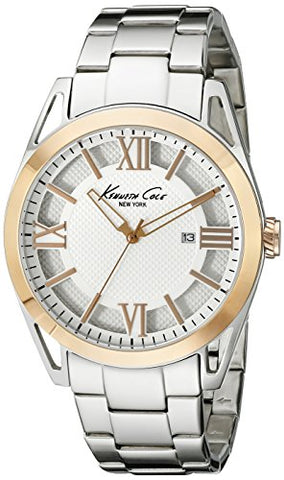 Kenneth Cole New York Men's KC9373 Classic Analog Display Quartz Silver Watch