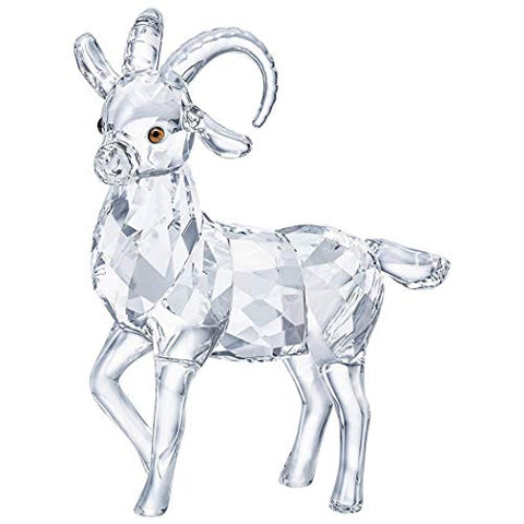 Swarovski Ibex Figurine Winter Sparkle Christmas Collectible 5464877