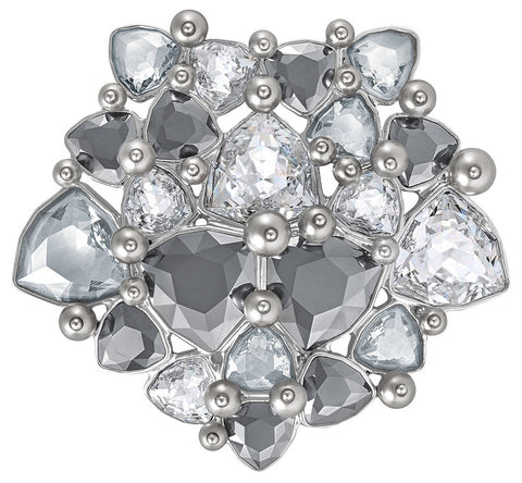 Swarovski Fortuna Brooch with Crystals and Pearls for Women 5240608