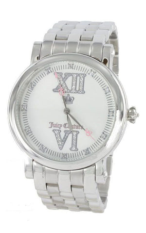 Juicy Couture Stainless Steel Analog Silver Dial Women's Watch Quartz 1900605