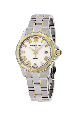 Raymond Weil Parsifal Two-Tone 18k Gold & Steel Calendar Automatic Mens Watch 2970-SG-00308