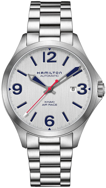 Hamilton Khaki Aviation Air Race Stainless Steel Automatic Mens Watch Date H76525151