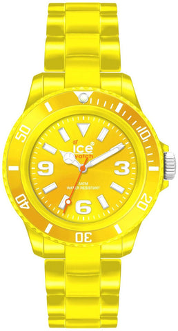Ice-Watch Classic Solid Polyamide Mens Yellow Fashion Watch CS.YW.B.P.10