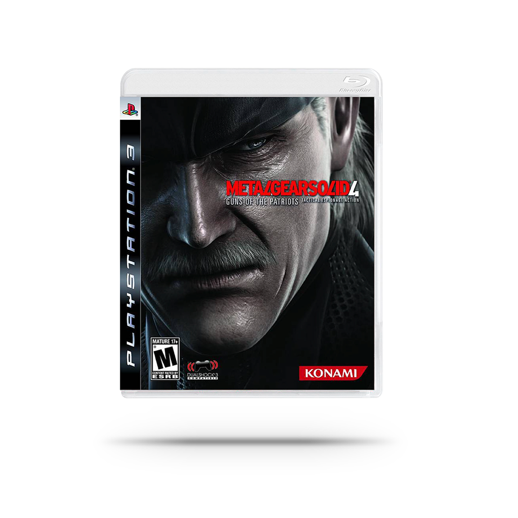 Videojuego - Metal Gear Solid 4: Guns of the Patriots