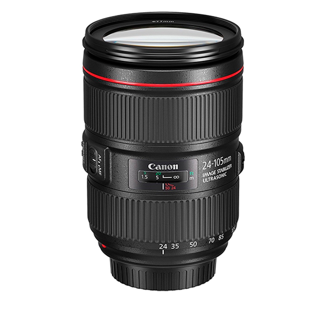 Lente Canon Zoom EF 24-105mm 1:4