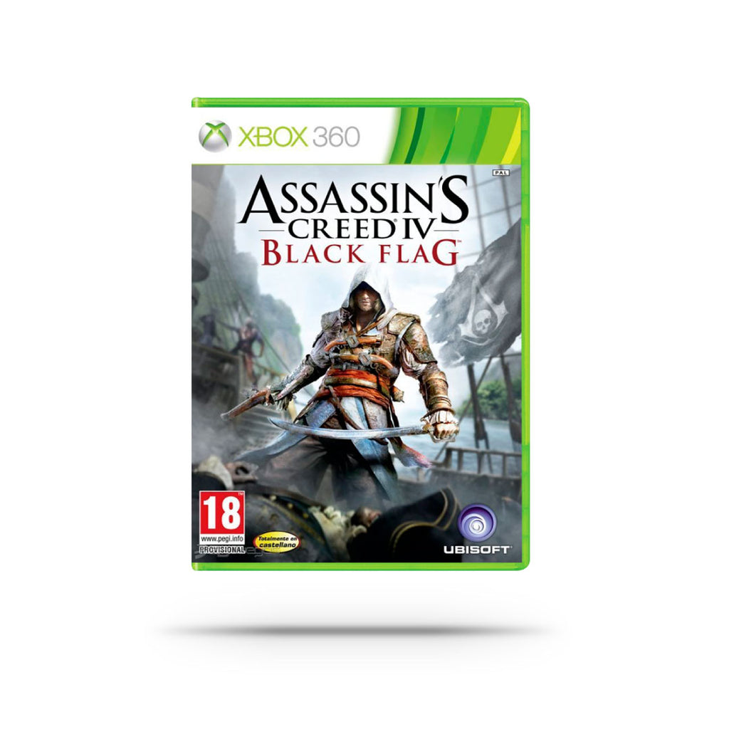 Videojuego - ASSASSINS CREED IV