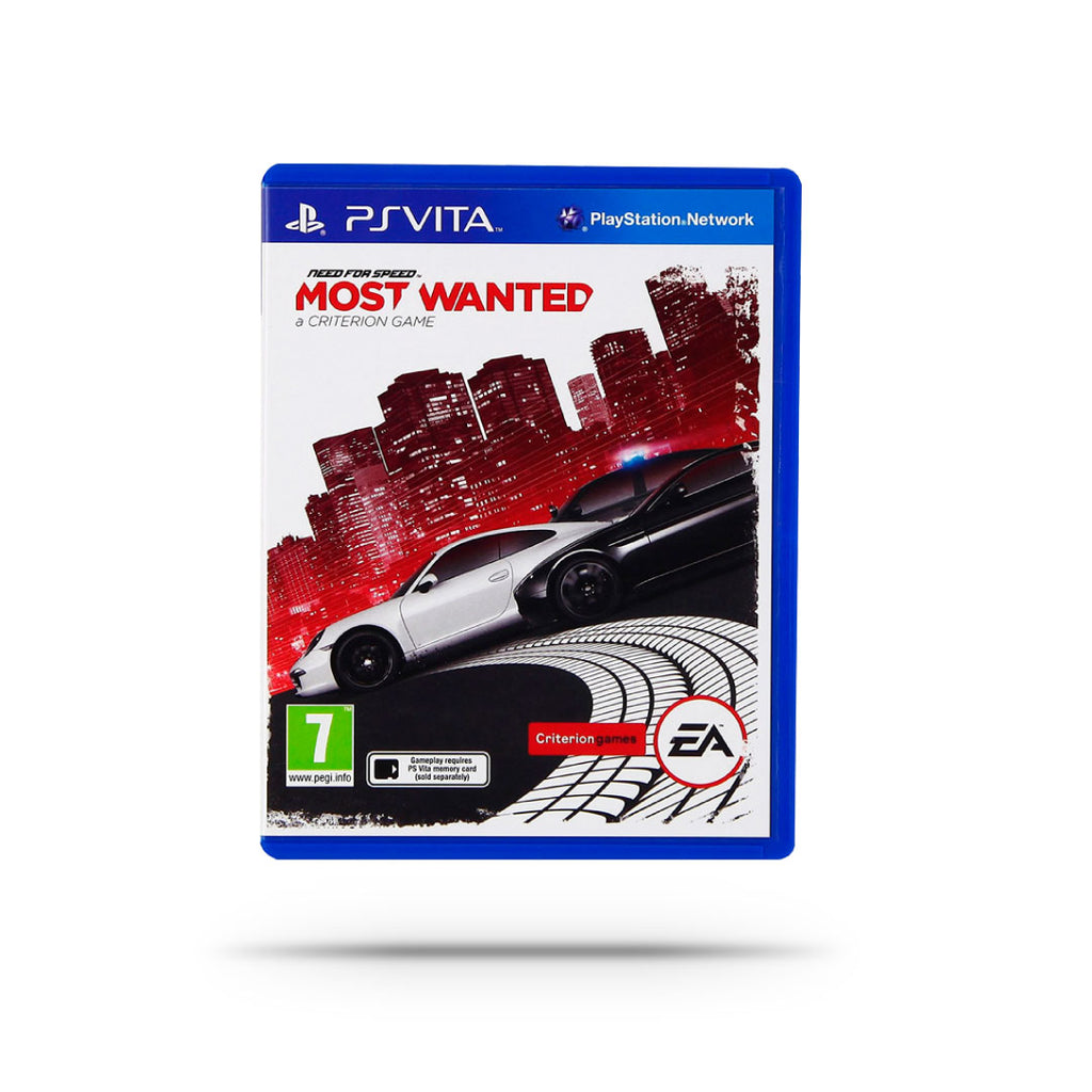 Videojuego - NEED FOR SPEED-MOST WANTED