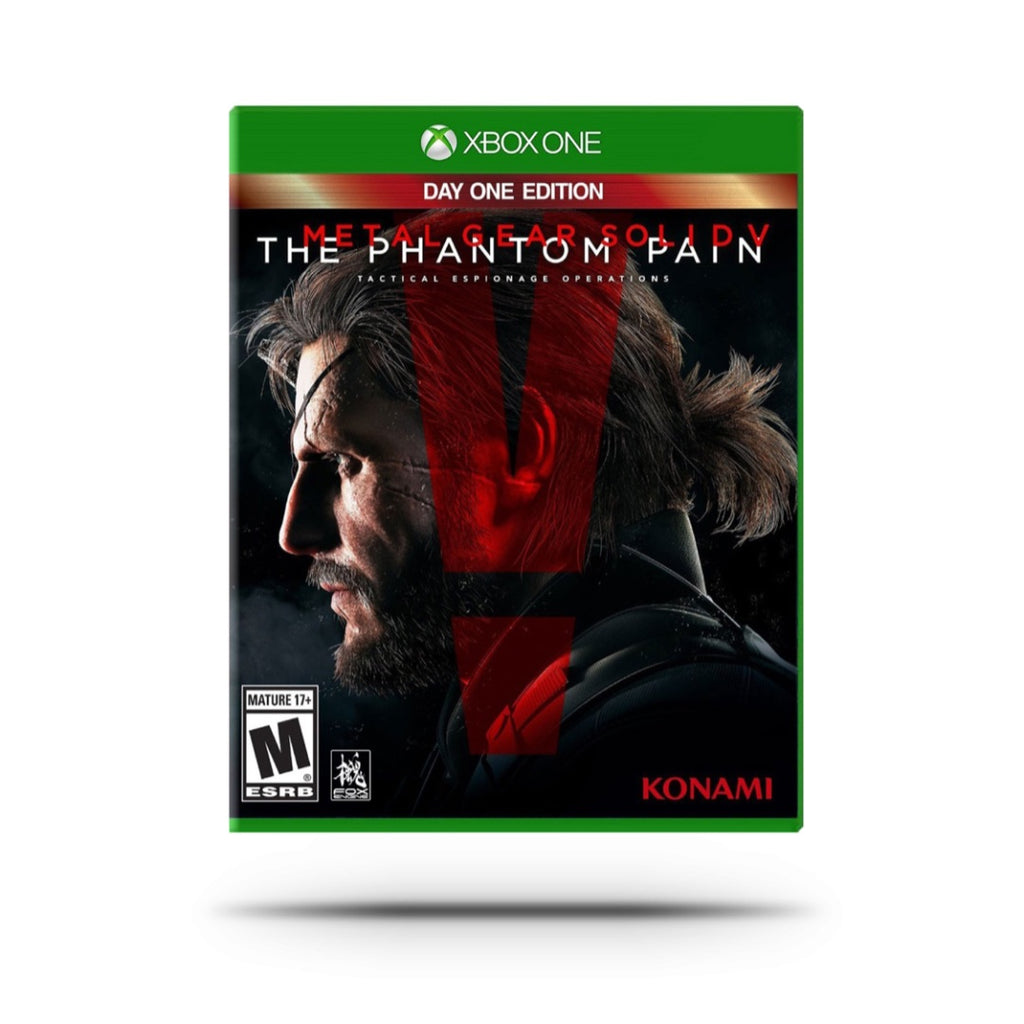 Videojuego - Metal Gear Solid V: The Phantom Pain (Day One Edition)