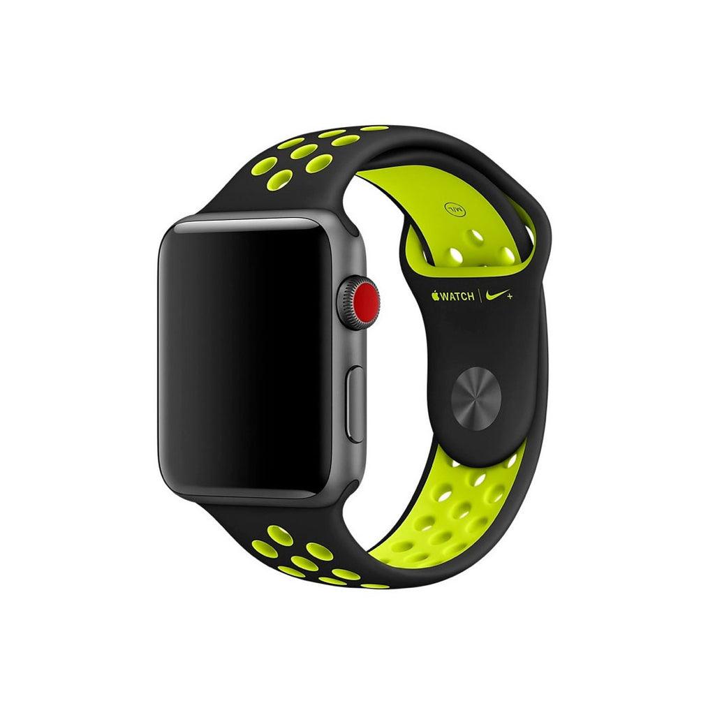 Correa Sport Negro 42MM Apple Watch Nike
