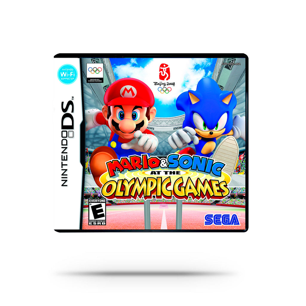 Videojuego -Mario & Sonic at The Olympic Games
