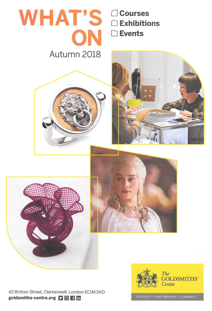 The Goldsmiths' Centre - Autumn 2018