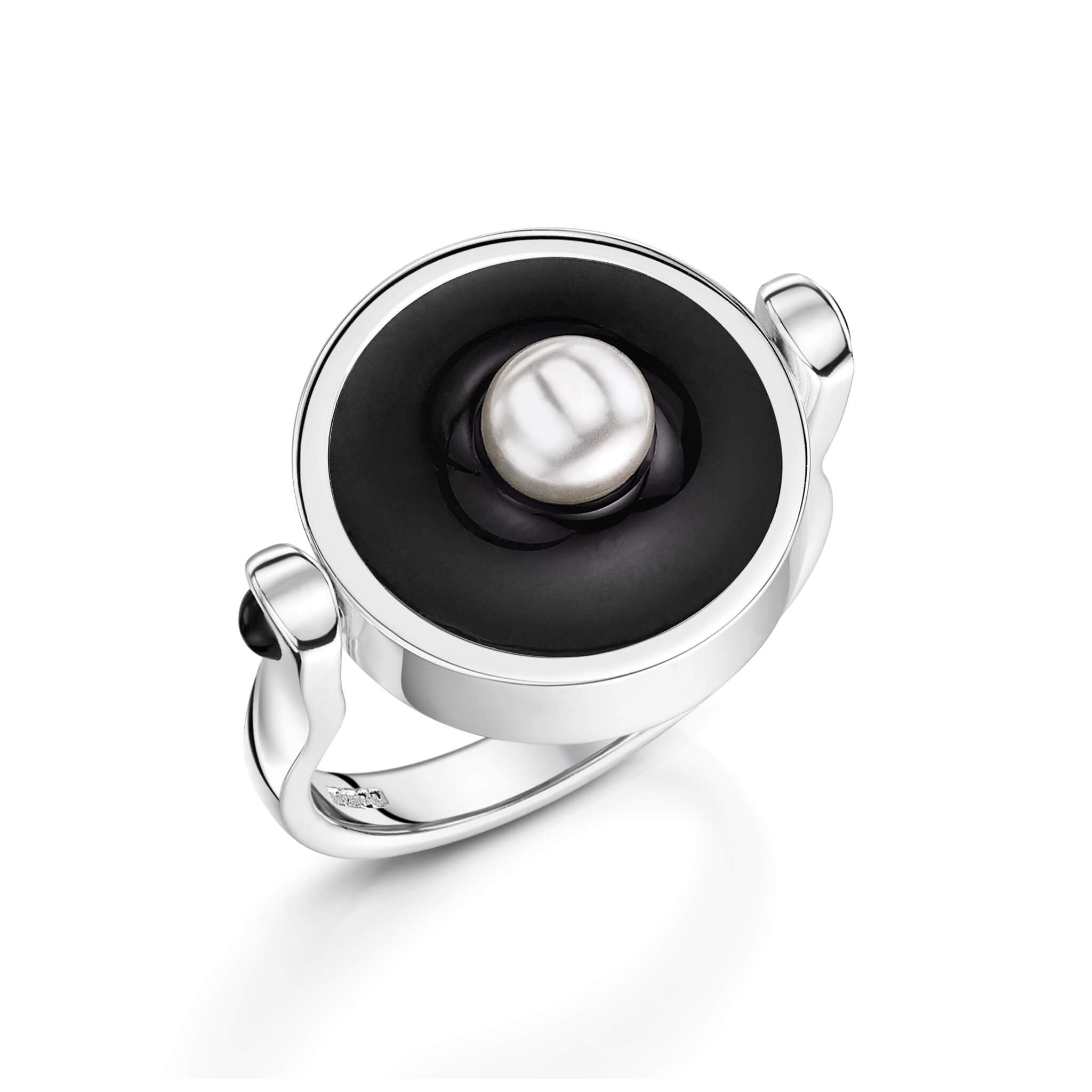 Black Seed Pearl Ring