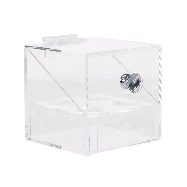 Impressions Vanity Co. | Diamond Collection 4-Slot Makeup Blender Case