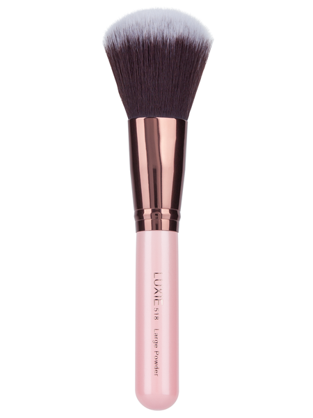 ROSE GOLD LARGE POWDER FACE BRUSH 518