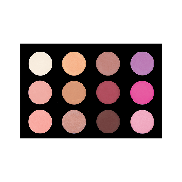 12 COLOR BLUSH PALETTE