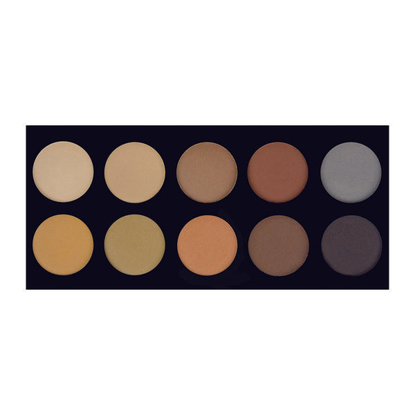 10 COLOR BROW PALETTE