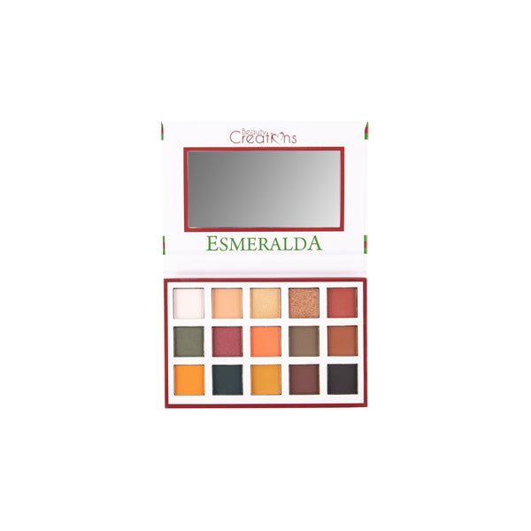 Esmeralda I palette | Beauty creations